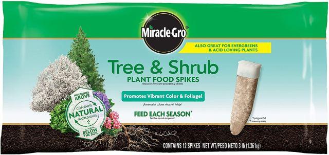 Miracle Gro Tree & Shrub SPikes