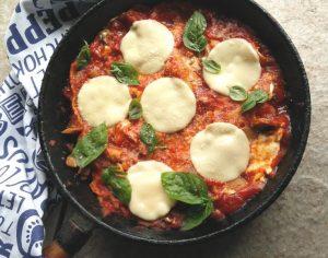 Stove Top Vegetable Lasagna