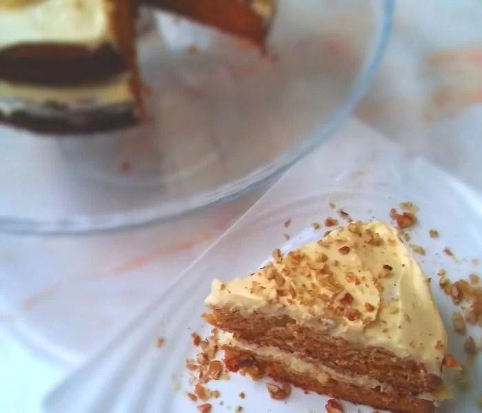 Delightfully Decadent Carrot Cake