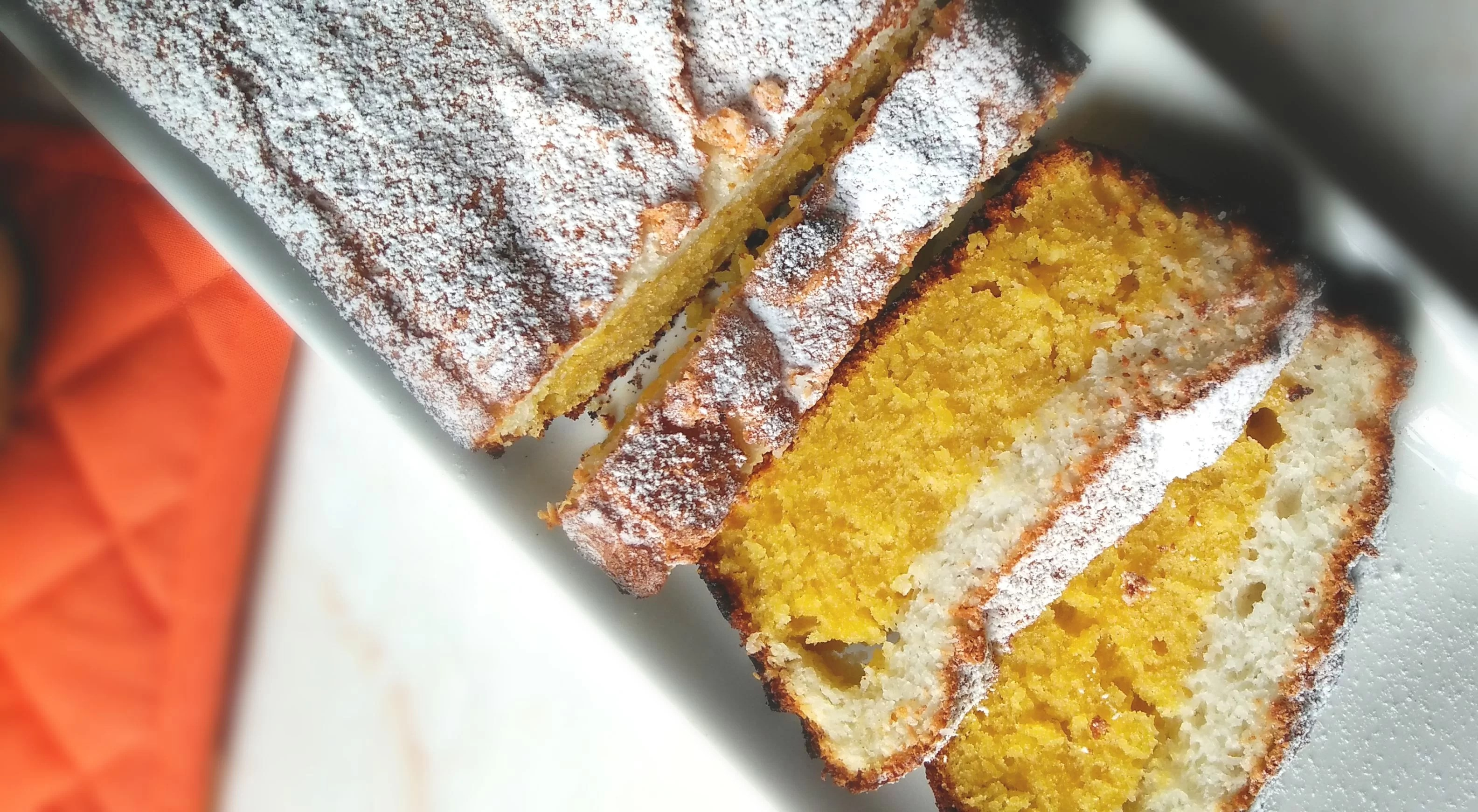 Lemon Vanilla Coconut Loaf