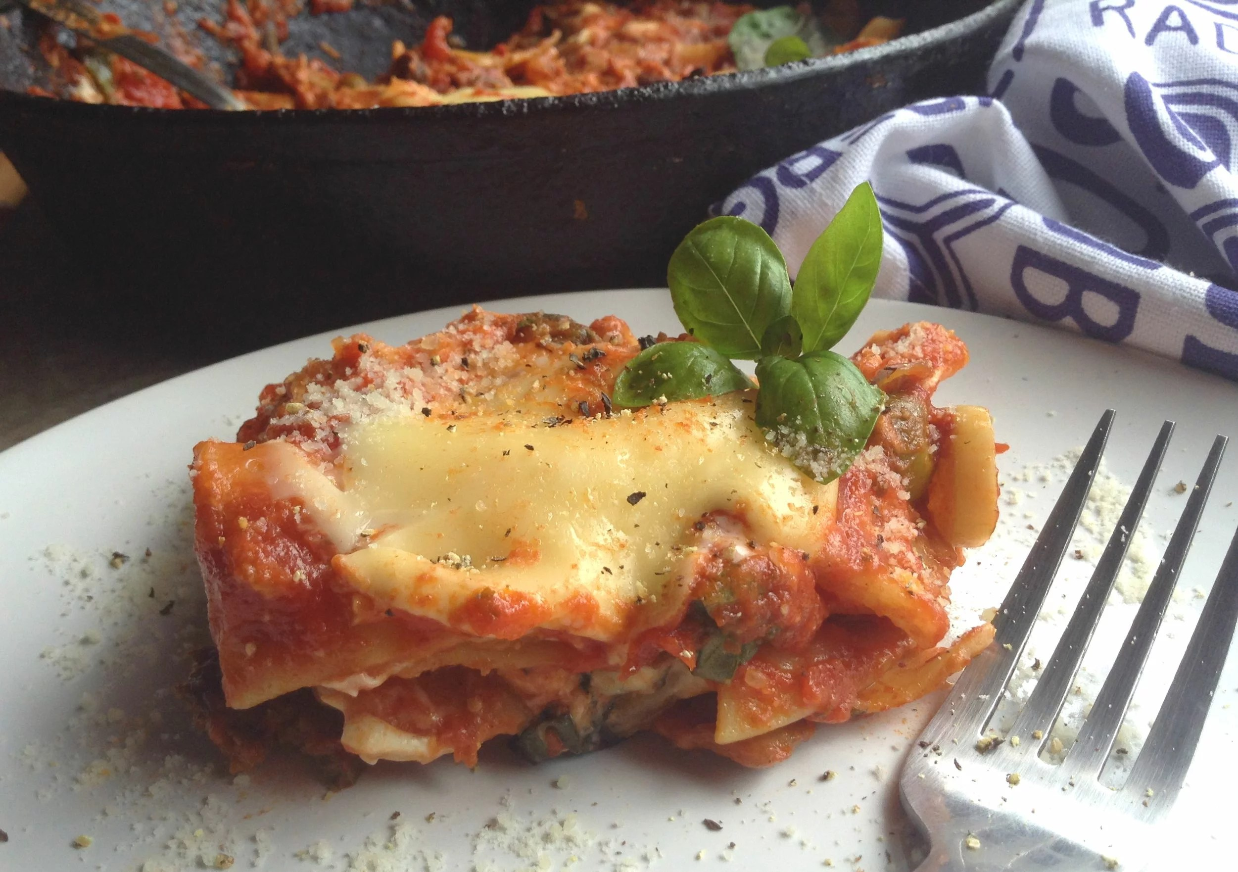 Stove Top Vegetable Lasagna