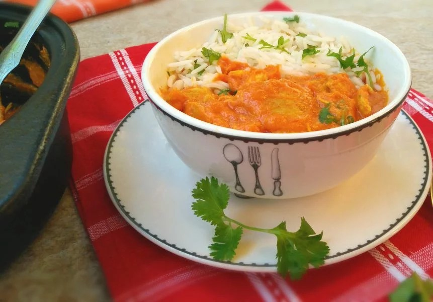 Healthy and light Butter Chicken