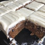 Easy Carrot Sheet Cake