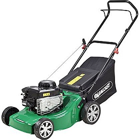Qualcast Push Petrol Rotary Lawn Mower - 125cc