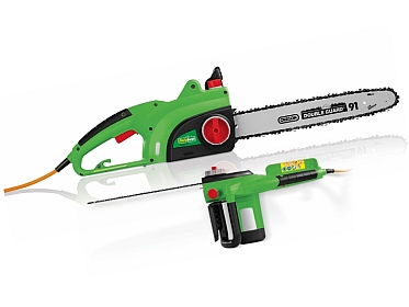 The garden tool shed florabest electric chainsaw on for Aldi gardening tools 2015