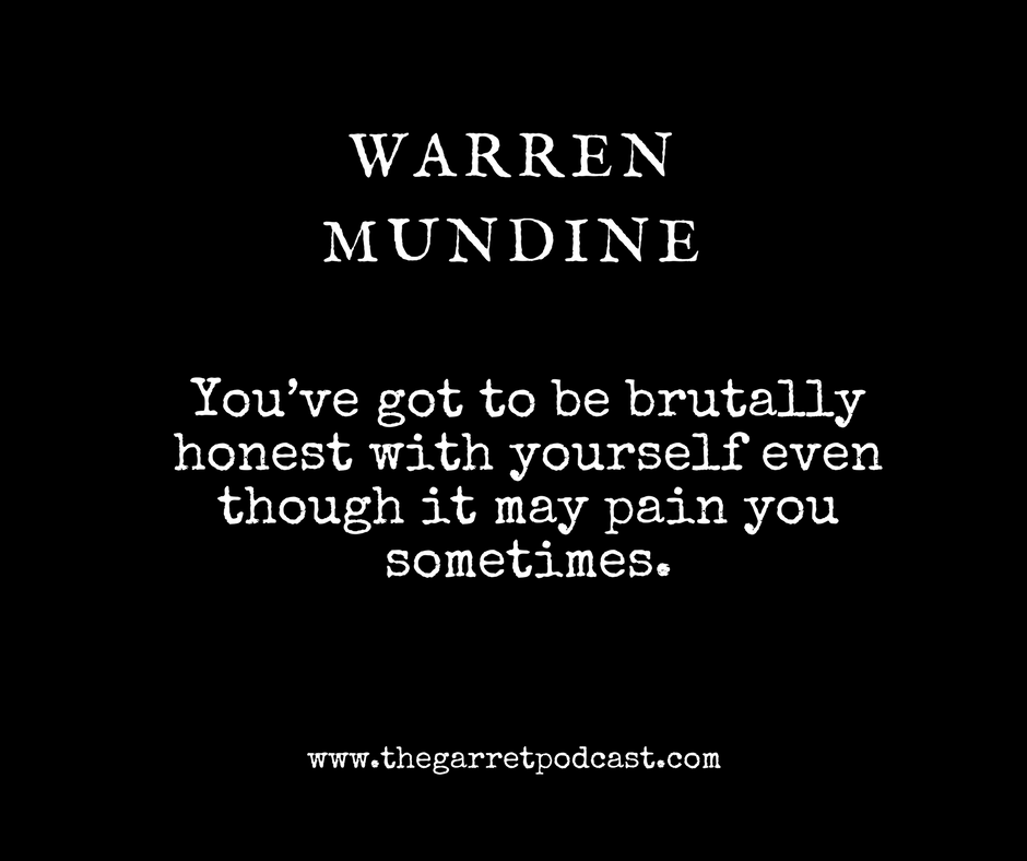 Warren Mundine_The Garret_Quote on writing memoir