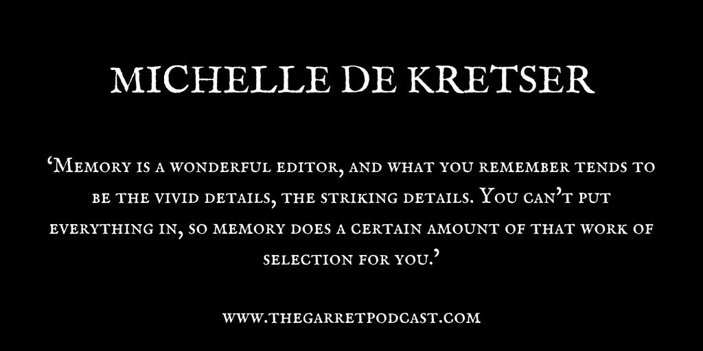 Michelle de Kretser_The Garret_Quote 4