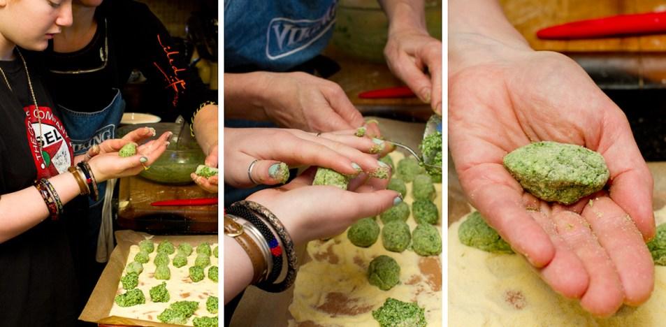 Dandelion and Mustard Green Gnocchi 3-2