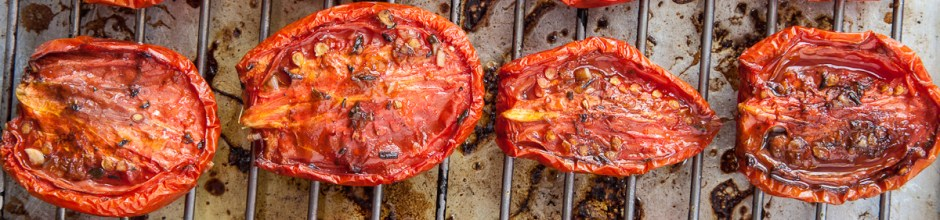 Slow-Roasted Plum Tomatoes with Herb Salt-2