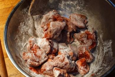 Pressure Cooker Lamb Stew with Chickpeas, Preservred Lemon and Saffron-5
