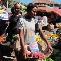 Market in St. Mark.