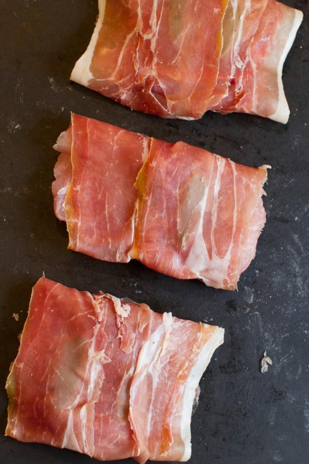 Pork Scaloppine with Prosciutto, Capers and Balsamic Vinegar TGF-15