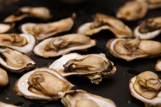 Grilled Oysters with Wasabi Mayo-14