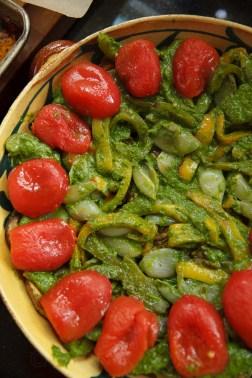 Eggplant, Pepper and Tomato Gratin-24