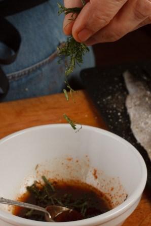 Spanish Mackerel, Saffron and Honey with Fennel - Blood Orange Salad-27