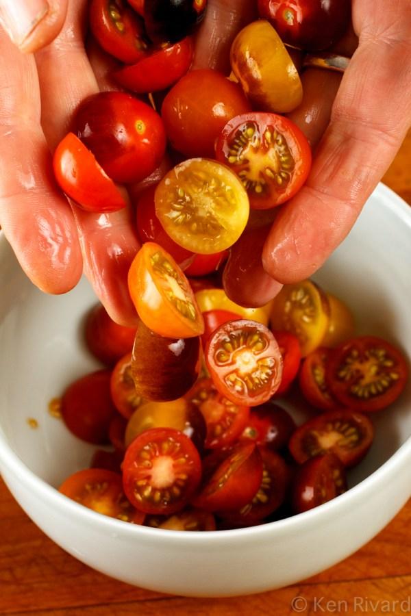 Tomato Salad with Tuna Tapenade-8606