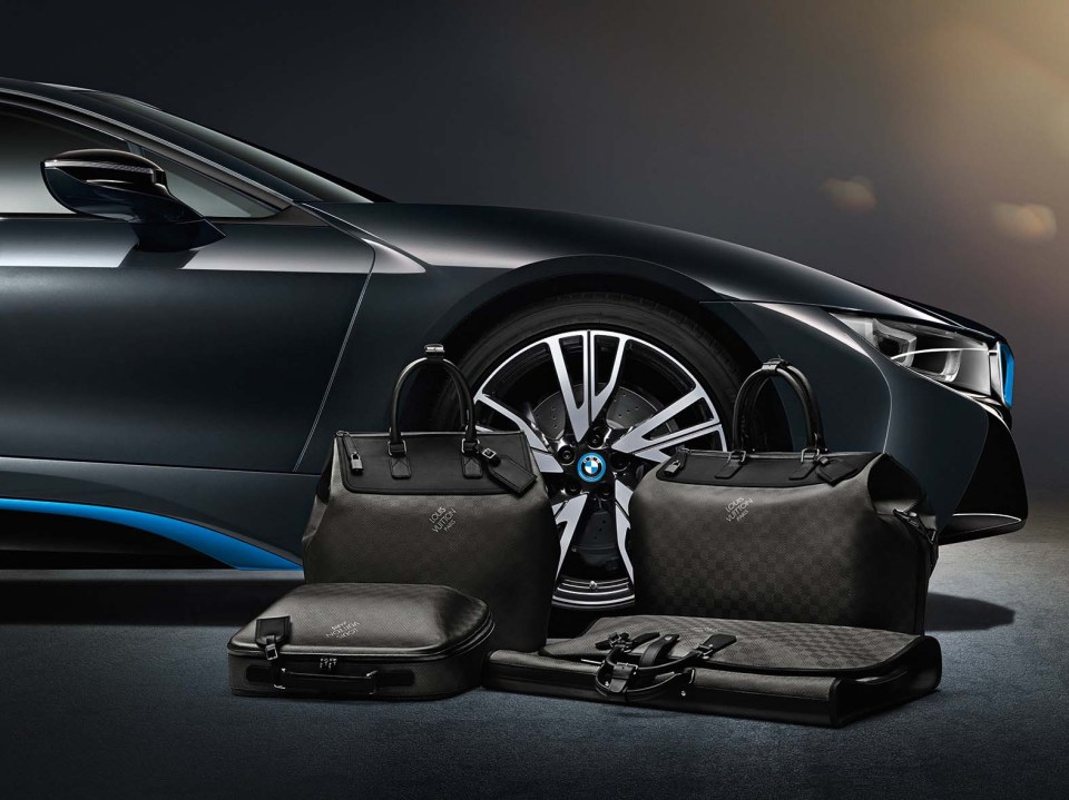 BMW i8 Louis Vuitton Bags 1