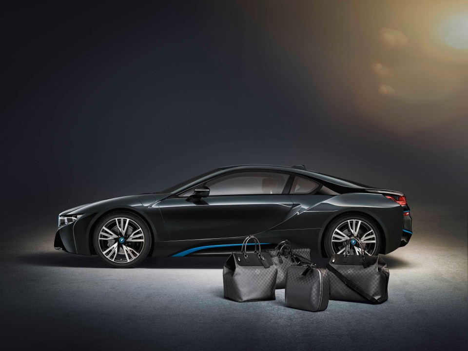 BMW i8 Louis Vuitton Bags 4