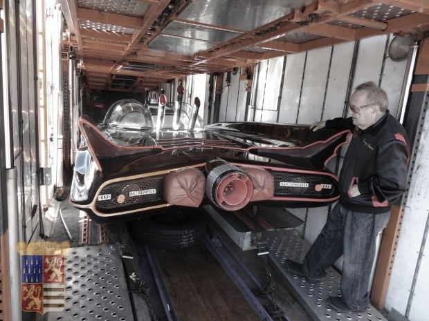 George Barris-and-Batmobile