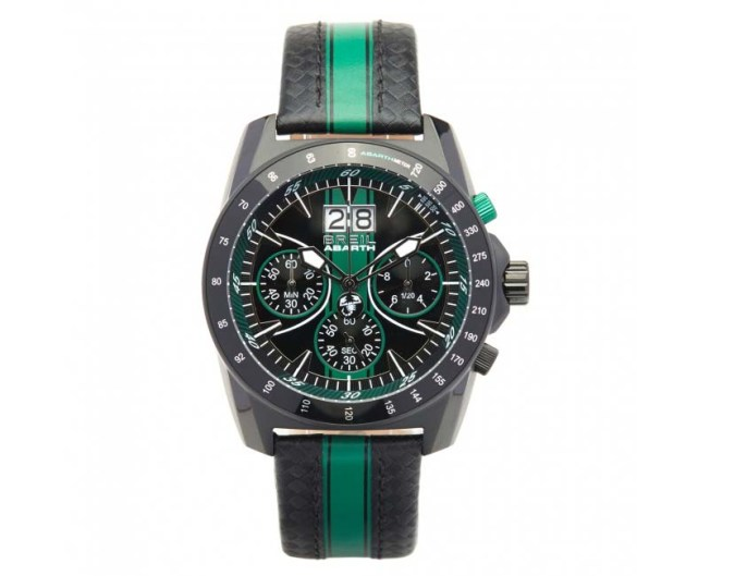 Abarth Watch - BREIL FOR ABARTH GREEN BRACELET