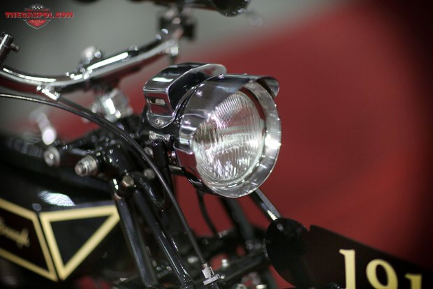 1917-Brough Motorcycle JAP-Engine-COVER