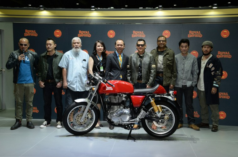 Royal Enfield Thailan Launch