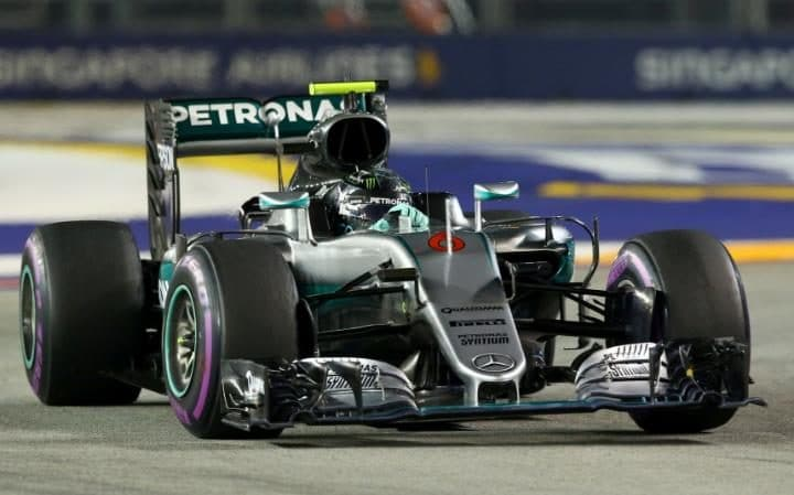 Nico Rosberg Mercedes-AMG Petronas F1 Team