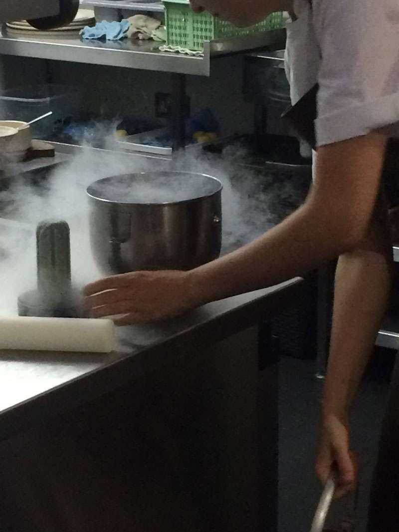 Sat Bains Kitchen