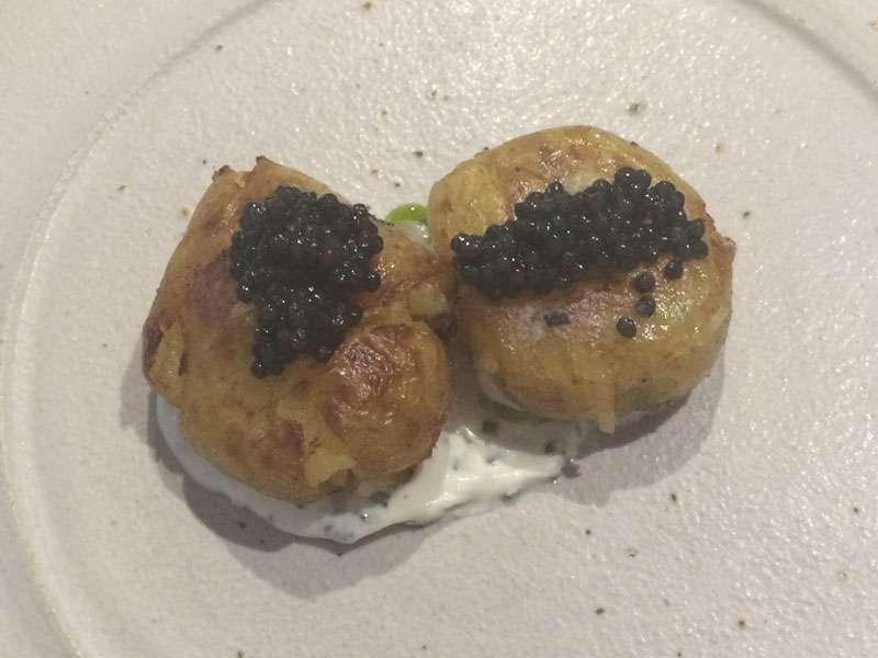 Jersey Royal potatoes -