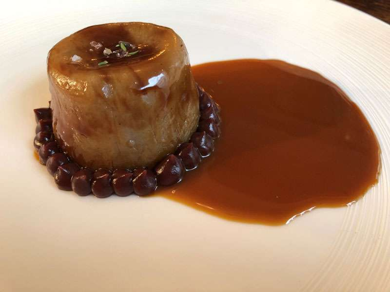 Hogget pudding