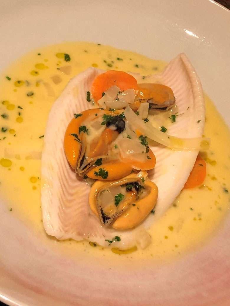Lemon Sole Main Course