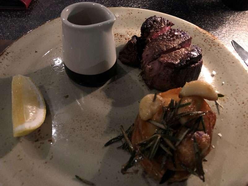 The 200g Angus fillet steak