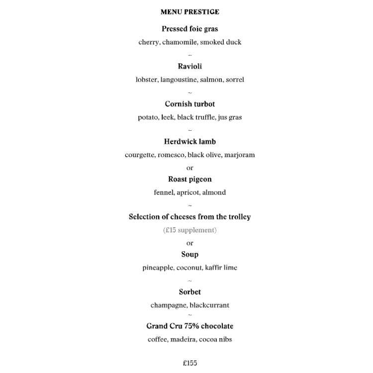 The Gastronome Restaurant Reviews - Restaurant Gordon Ramsey