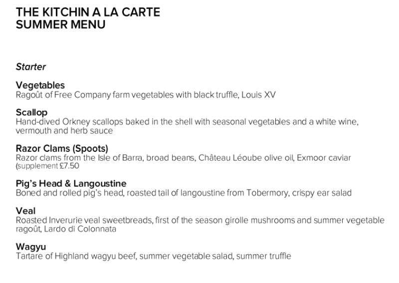 The Gastronome Restaurant Reviews - The Kitchin, 78, Commercial Quay, Leith, Edinburgh EH6 6LX