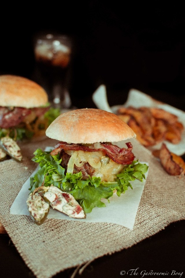 Mexican Chorizo Burger with Cream Cheese and Bacon Stuffed Jalapenos2