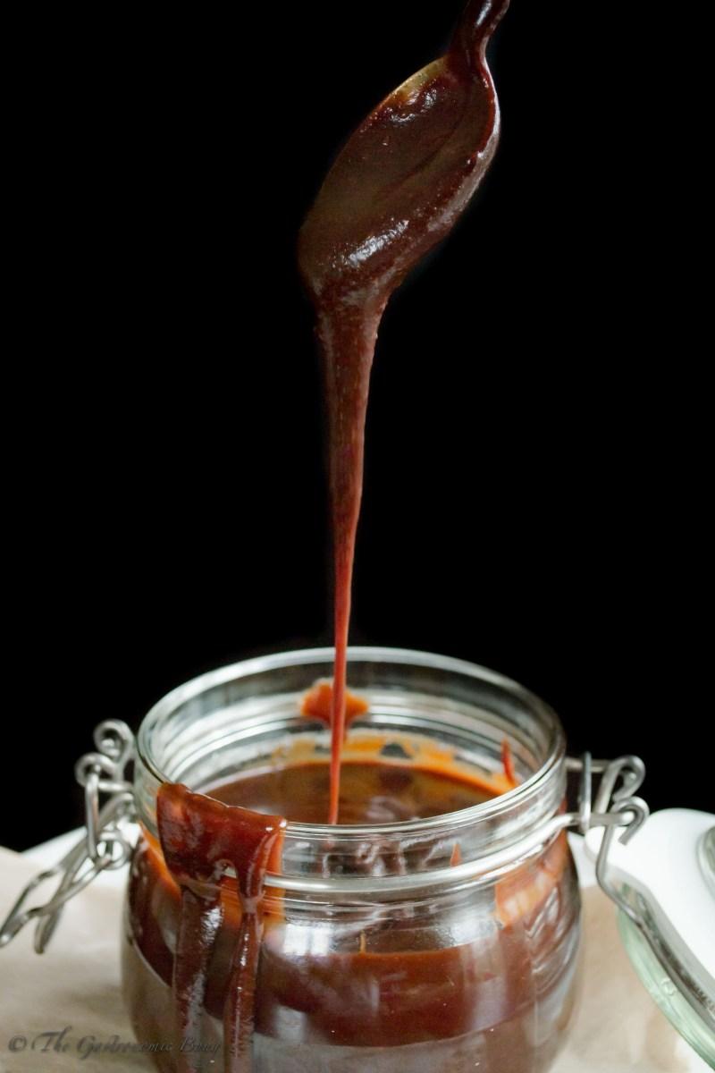Dark Chocolate Salted Caramel Sauce11