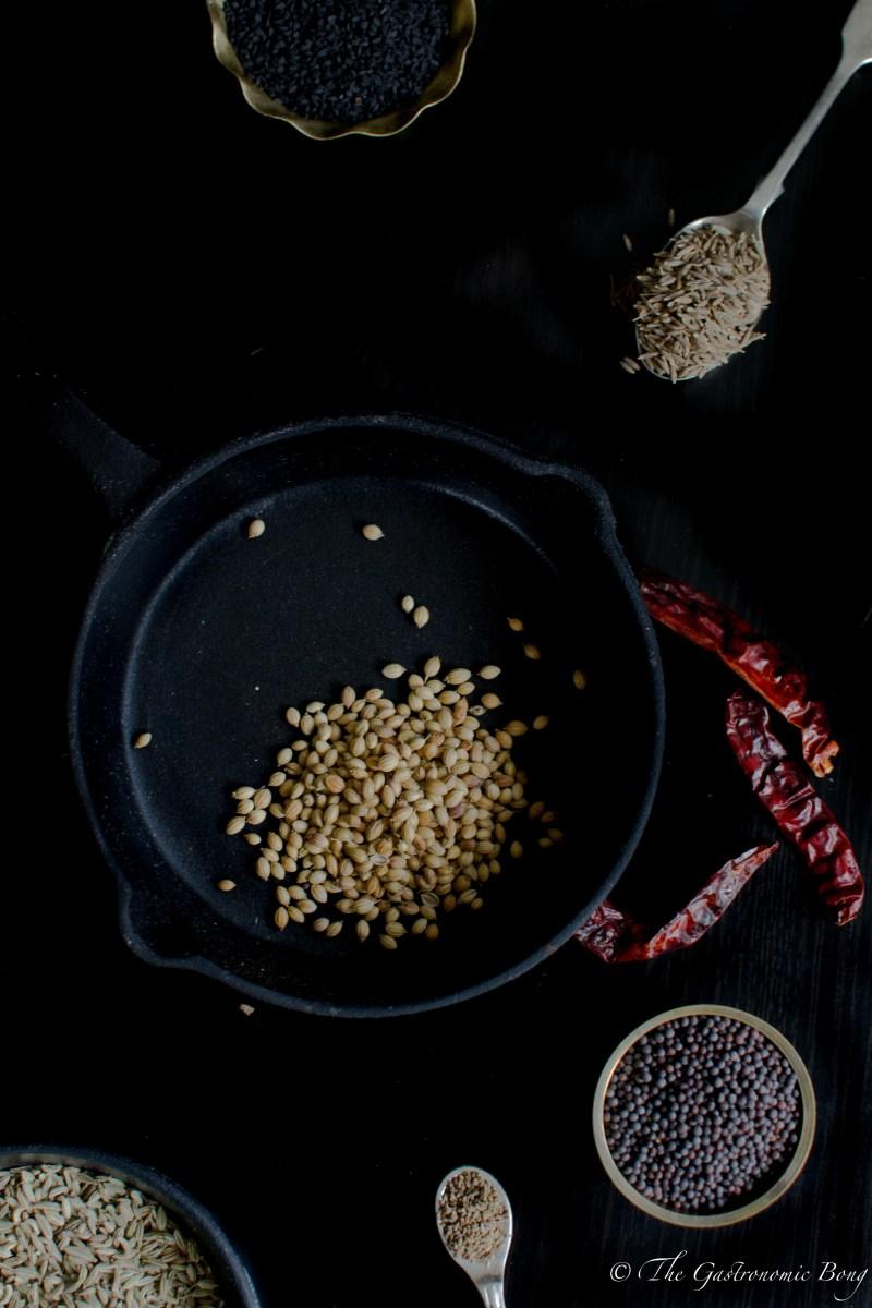 Kalonji Baingan - Stuffed Aubergine Fry