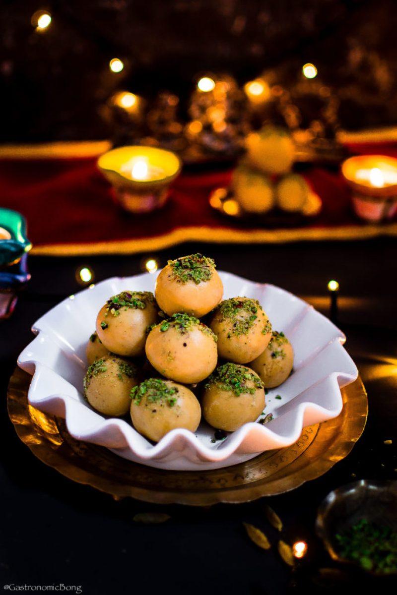 Besan Ke Ladoo || Diwali besan ladoo