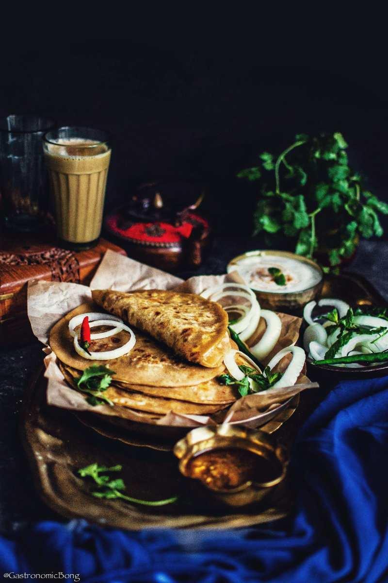 Gobi paratha - Gastronomic bong