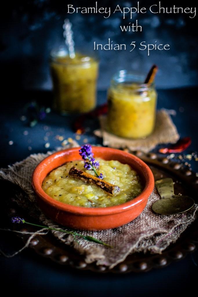 Bengali style Apple chutney (Indian style Apple chutney)