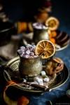 Orange Cardamom Spiced Hot Chocolate