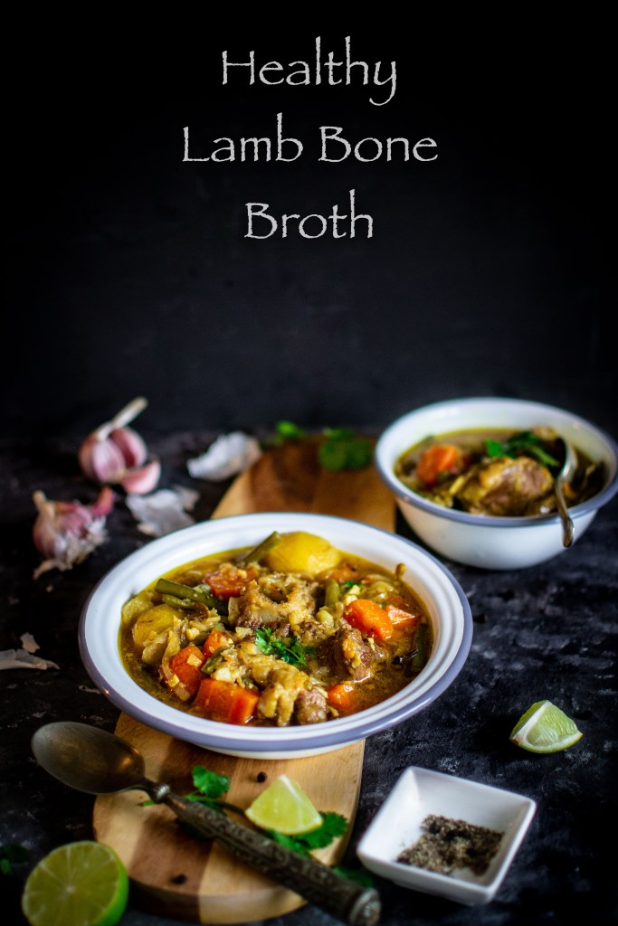 Lamb bone broth