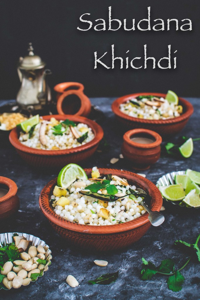 Sabudana Khichdi or tapioca pearl khichdi is a popular and delicious meal loaded with peanuts, potatoes and ghee and mild Indian spices.