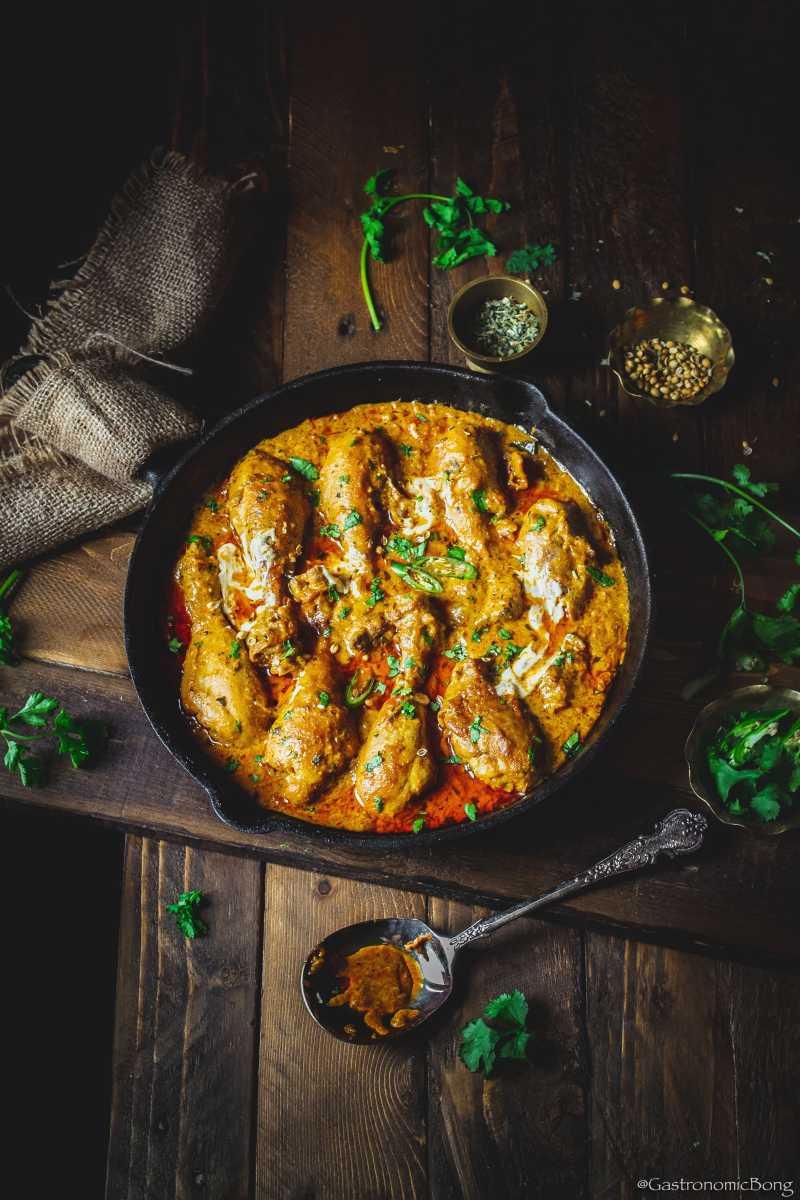 Chicken Handi (Restaurant Style Chicken Handi)
