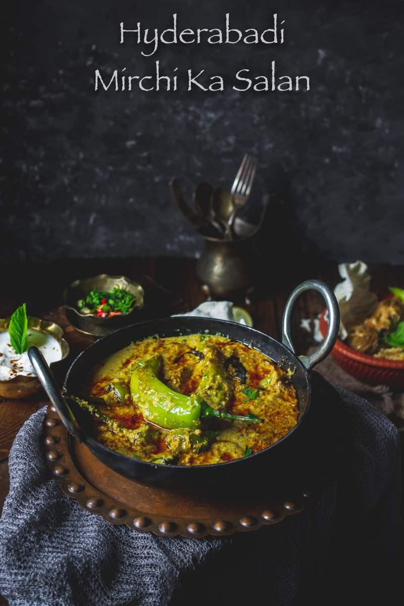 Hyderabad Mirchi ka Salan