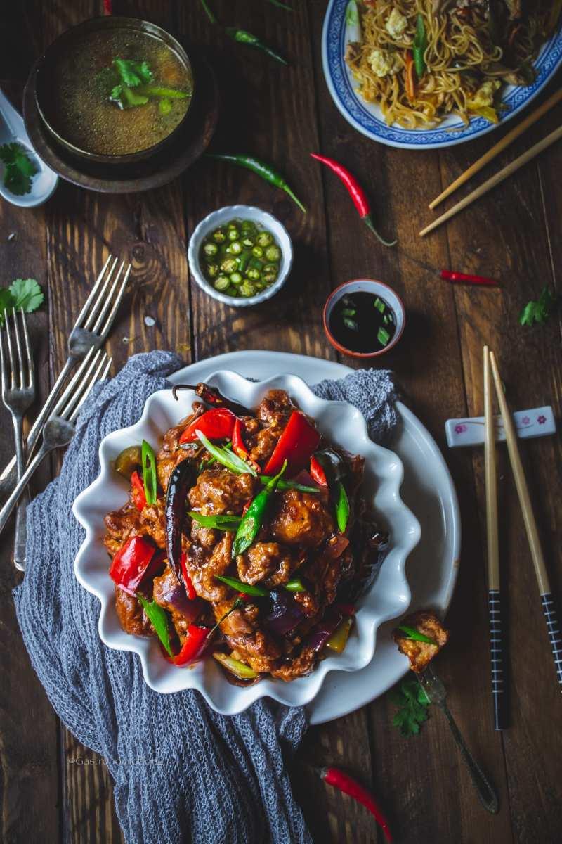 Kolkata Chilli Chicken