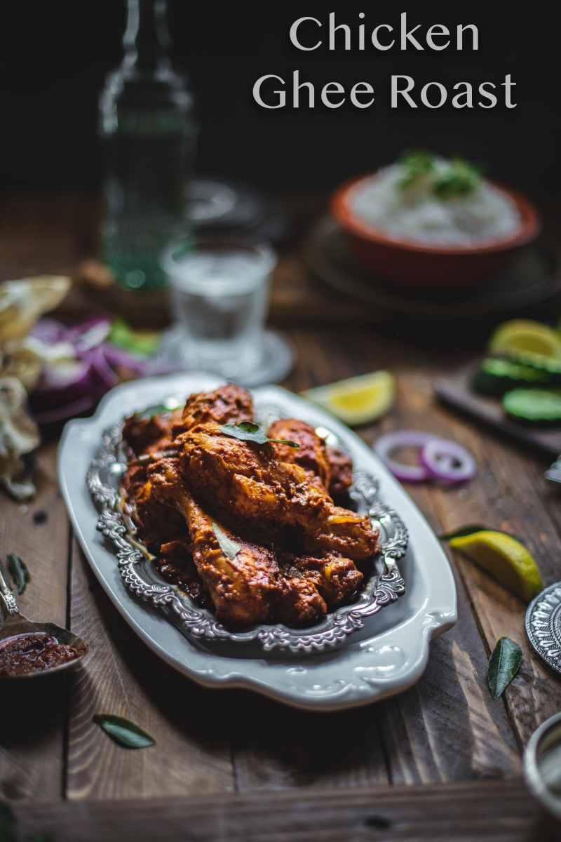 Mangalorean Chicken Ghee Roast