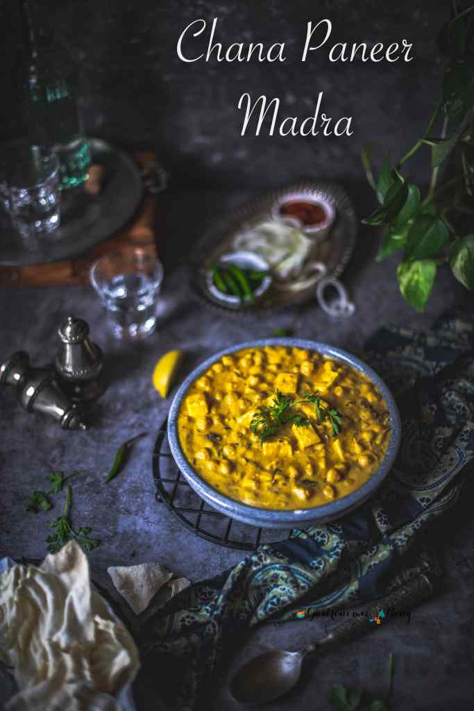 Chana paneer Madra Himachali recipe