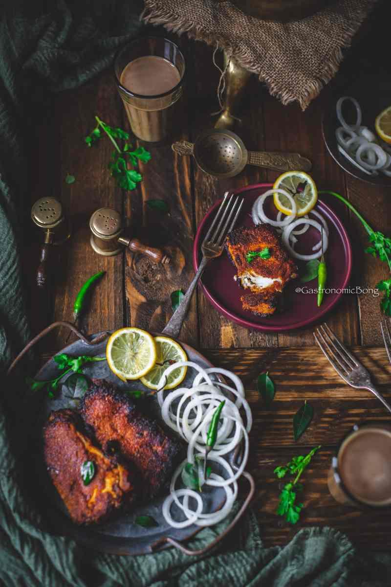 Fish Fry Chettinad style