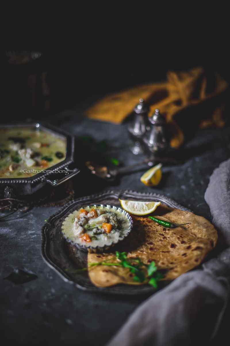 Vegetable korma Tamilnadu style